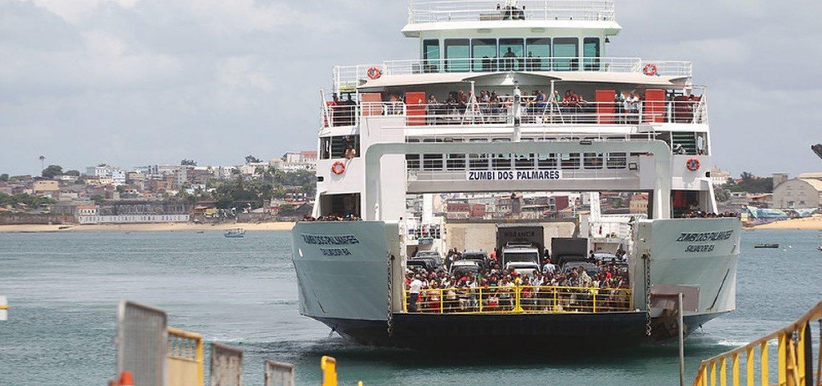 [Após prorrogação das medidas restritivas, travessias de ferry boat estão suspensas na Bahia]