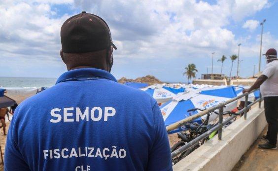 [Prefeitura prorroga decreto que proíbe acesso às praias de Salvador]