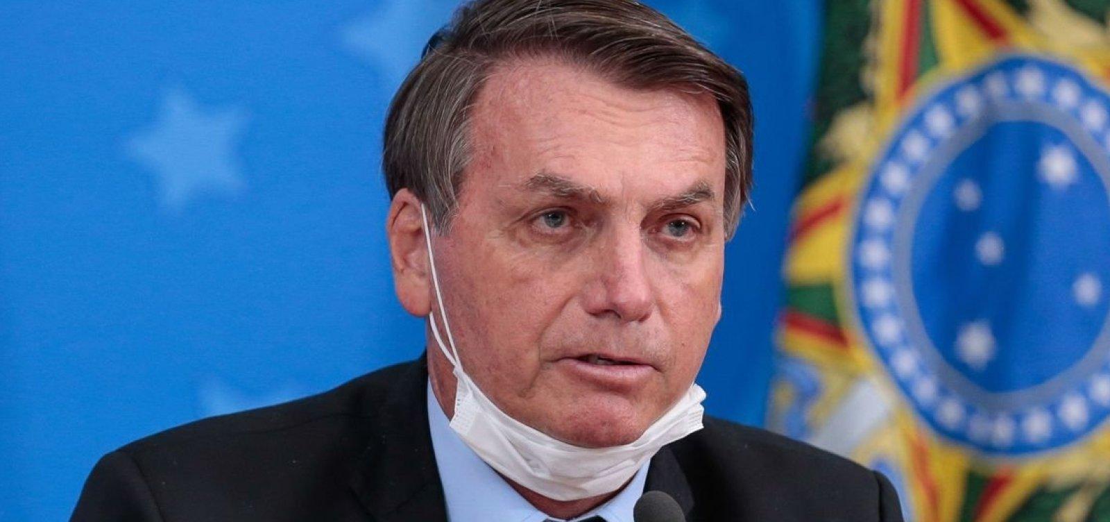 [Crítico do isolamento e favorável ao tratamento precoce, Bolsonaro diz nunca ter errado no combate à pandemia ]