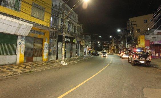 [Medidas restritivas serão prorrogadas até segunda-feira em Salvador e RMS]