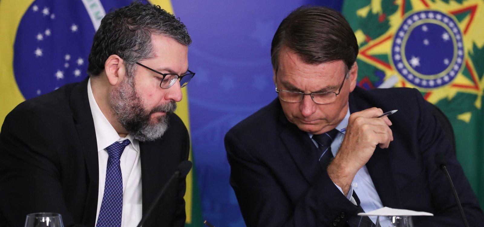 [Bolsonaro envia Ernesto e comitiva a Israel por spray 'milagroso', que ele diz não saber o que é]