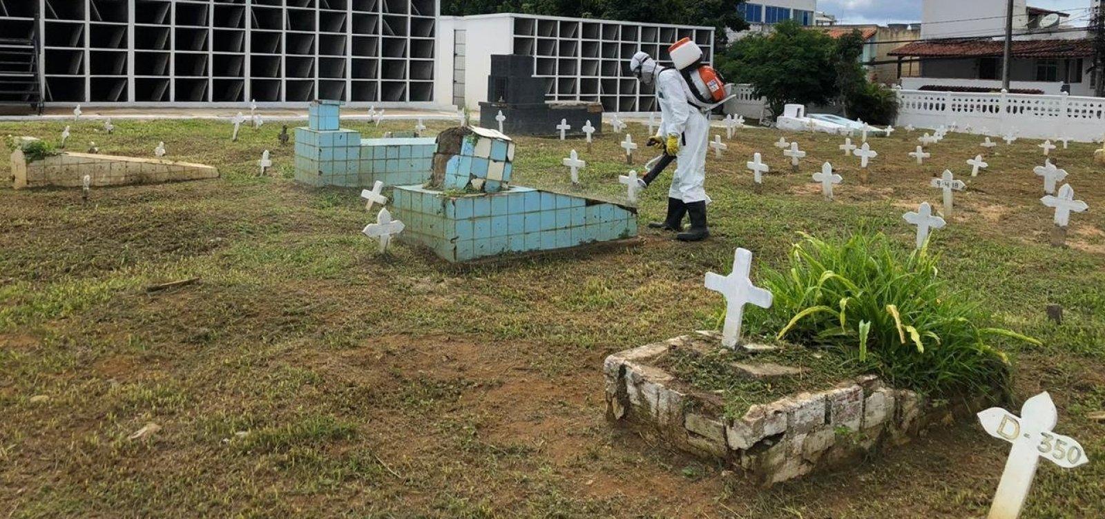 [Covid-19: Prefeitura de Salvador amplia número de vagas nos cemitérios]