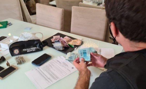 [PF cumpre mandados contra grupo de tráfico internacional de drogas na Bahia e MS]
