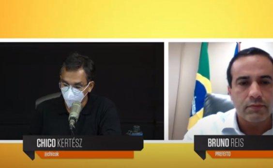 [Postura de Bolsonaro pode levar a 'verdadeiro extermínio da nossa população', diz Bruno Reis]