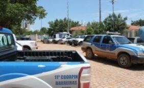 [Policiais flagram grupo que tentava fugir de delegacia em Barreiras ]