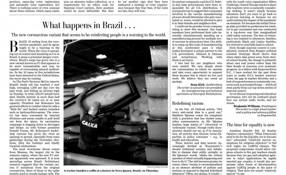 [Covid-19 no Brasil: New York Times, The Guardian e Washington Post repercutem crise do país; veja manchetes]