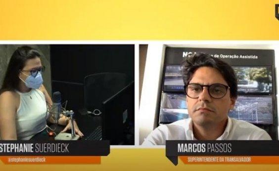 [Marcos Passos conta sobre nova gestão à frente da Transalvador em entrevista ao Metrópole Serviço ]