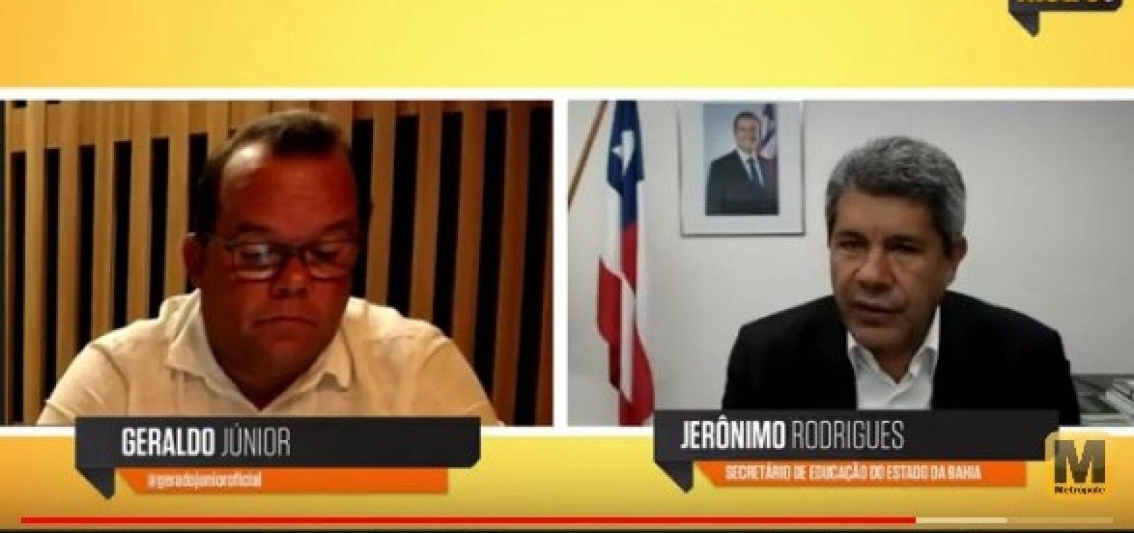 [Sete em Ponto: secretário de Educação da Bahia explica desafios do ano letivo]
