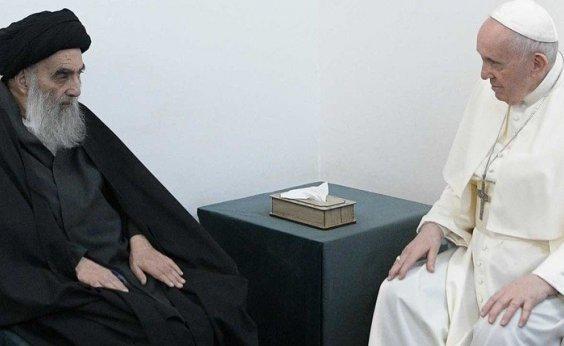 [Papa Francisco tem encontro histórico com líder xiita do Iraque]