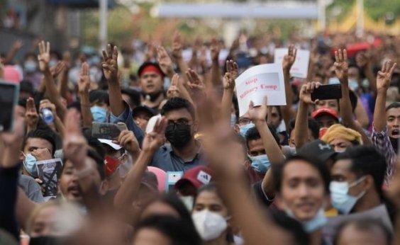 [Policiais de Myanmar aderem a movimento de desobediência civil]