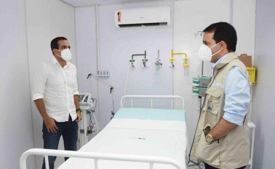 [Unidade de suporte ventilatório para pacientes com Covid-19 é inaugurada em Salvador]