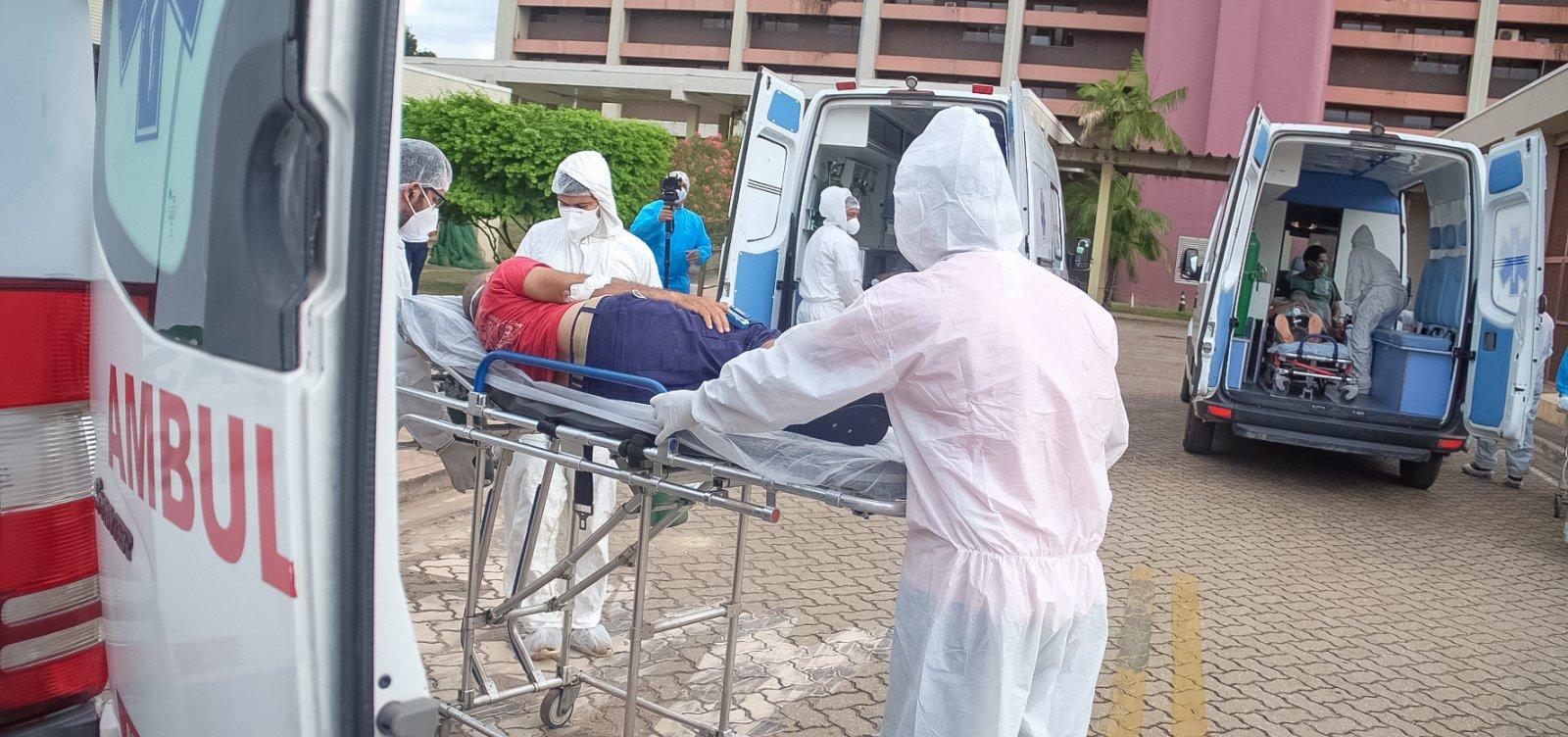 [Ocupação de UTIs supera 100% no Rio Grande do Sul]