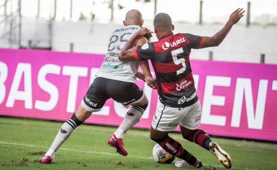[Vitória perde para o Ceará fora de casa no Nordestão por 3 a 1]