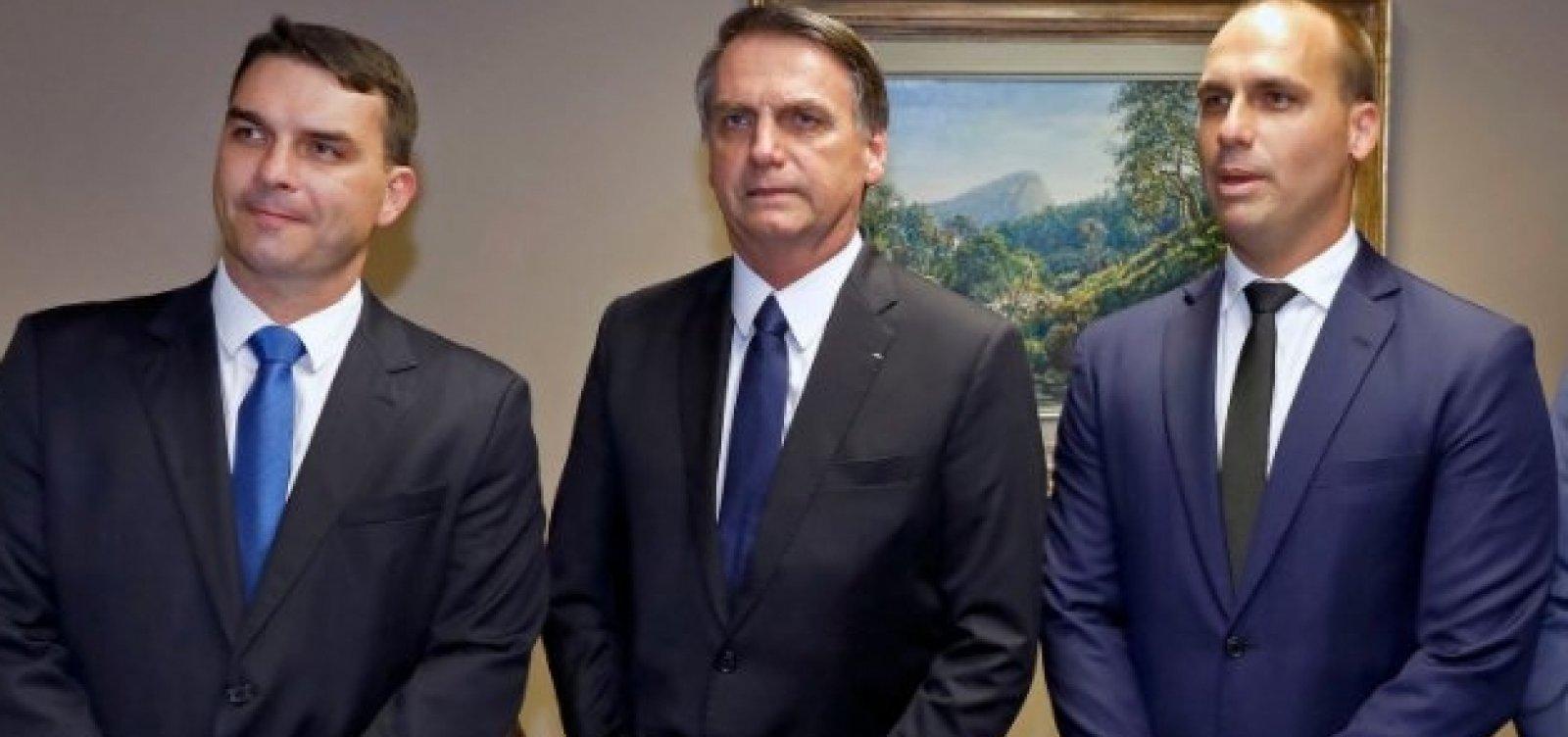 [Com presidentes aliados no Congresso, filhos de Bolsonaro articulam assuntos de interesse do pai]