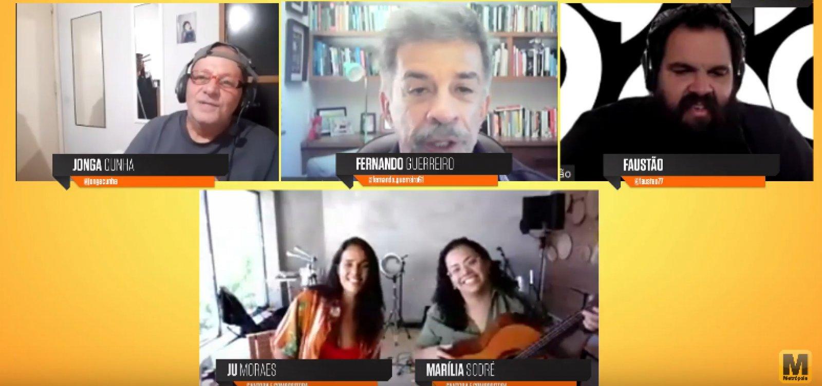 [Roda Baiana: Jú Moraes e Marília Sodré falam sobre coletivo feminino Sambaiana ]