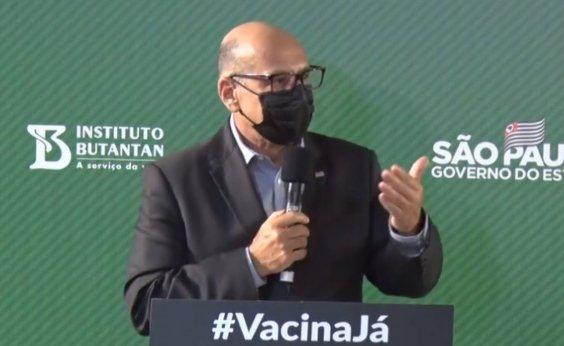 ['Vacinação contra Covid-19 deve ser anual', diz Dimas Covas]