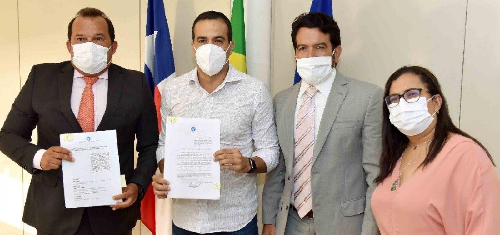 [Prefeitura encaminha projeto para ingresso no consórcio municipal da vacinas contra a Covid-19]