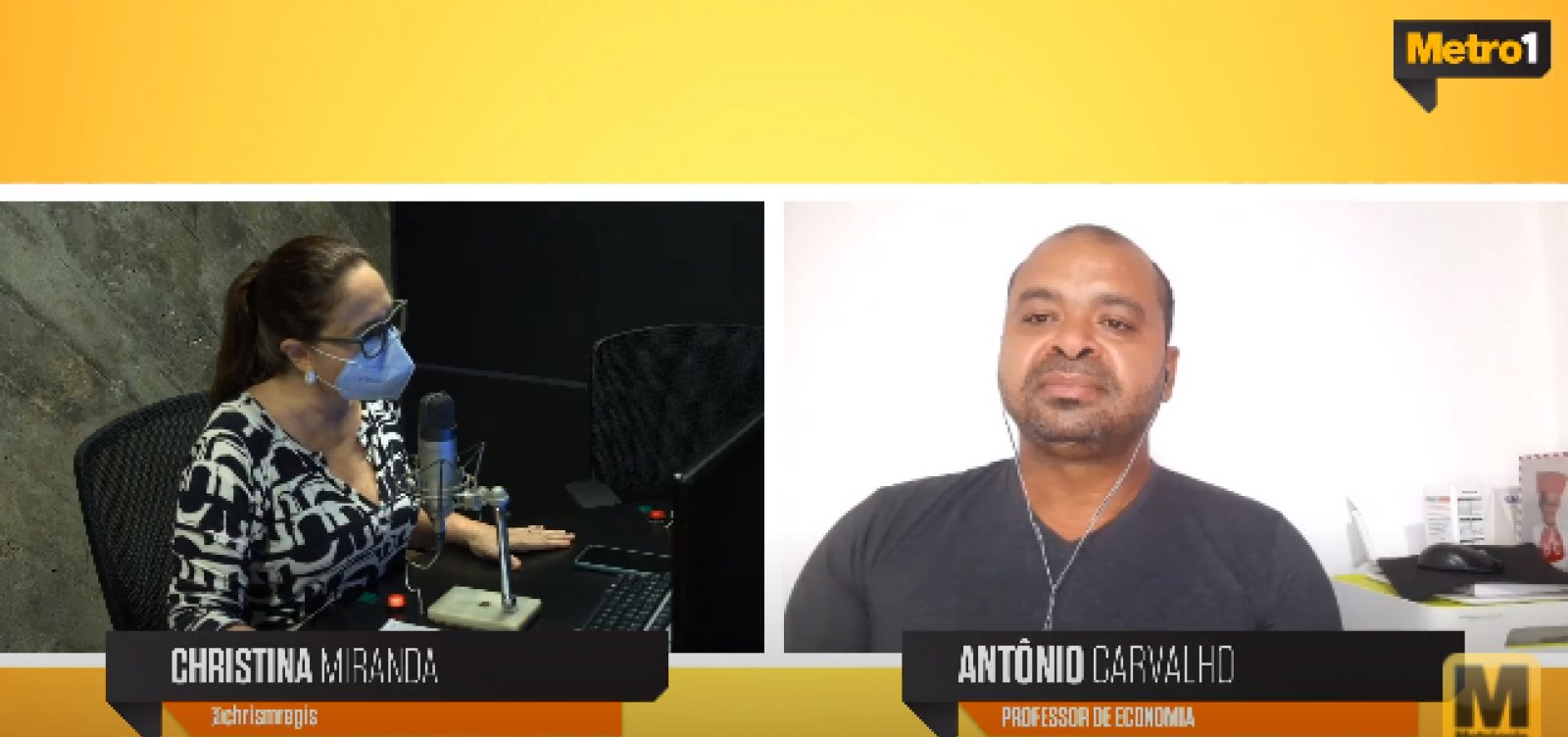 [Professor de economia discute taxa recorde de desocupação na Bahia no Metrópole Serviço]