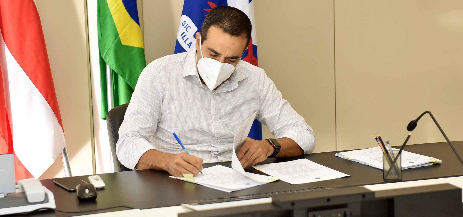 ['Salvador está pronta para pagar', afirma prefeito sobre negociação de vacinas contra Covid-19]