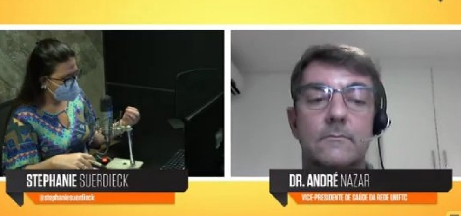 [Metrópole Saúde: médico fala de cuidados com a formação de profissionais da saúde durante a pandemia]