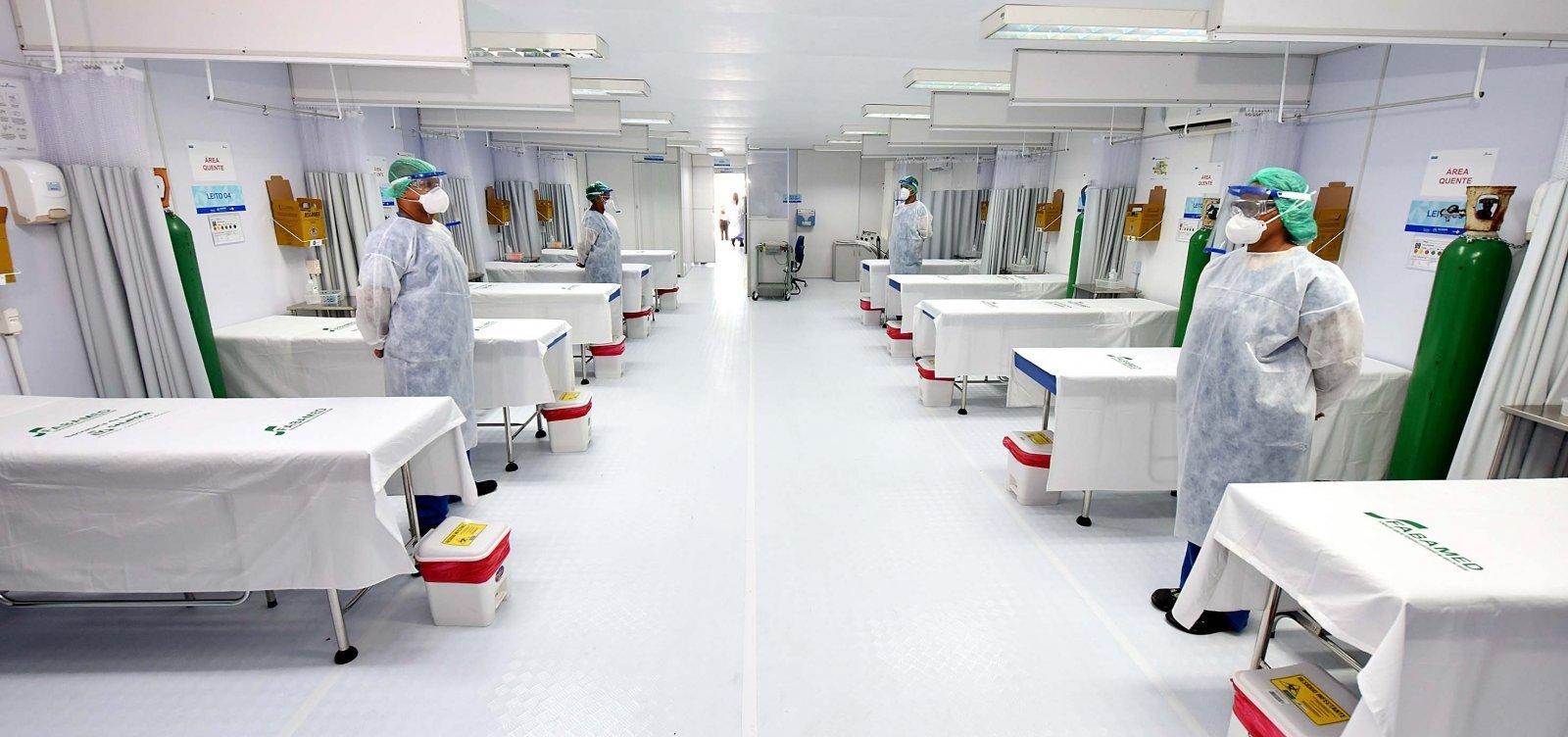 [Bahia registra 115 mortes por covid-19 e 4.975 novos casos da doença em 24h]