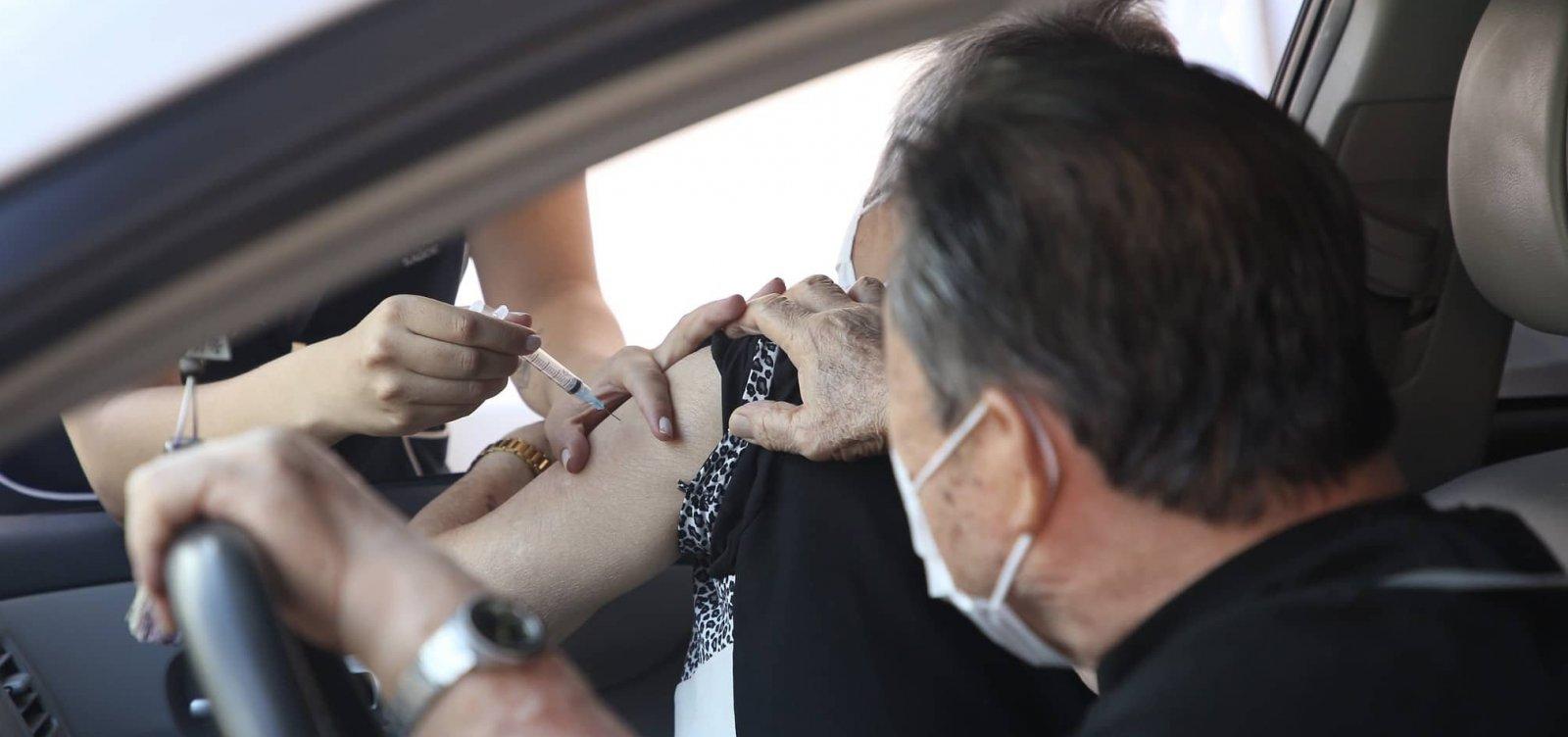 [Vacinação para idosos com 76 anos em Salvador começa nesta sexta; confira informações]