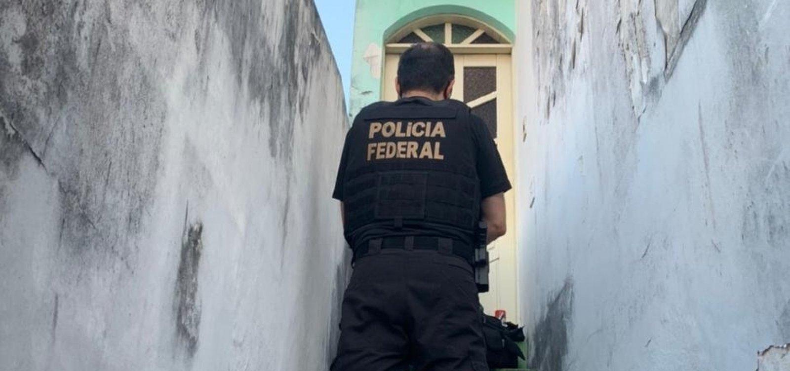[Polícia Federal cumpre mandados em operação contra fraudes no INSS]