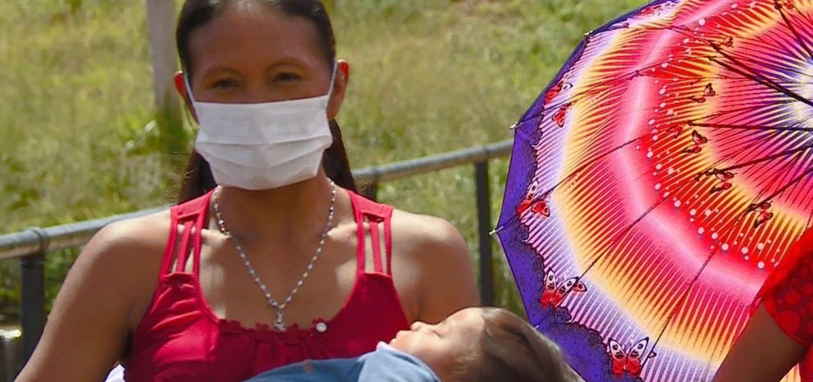 [Brasil tem mais de mil mortes de indígenas por Covid-19, aponta entidade ]