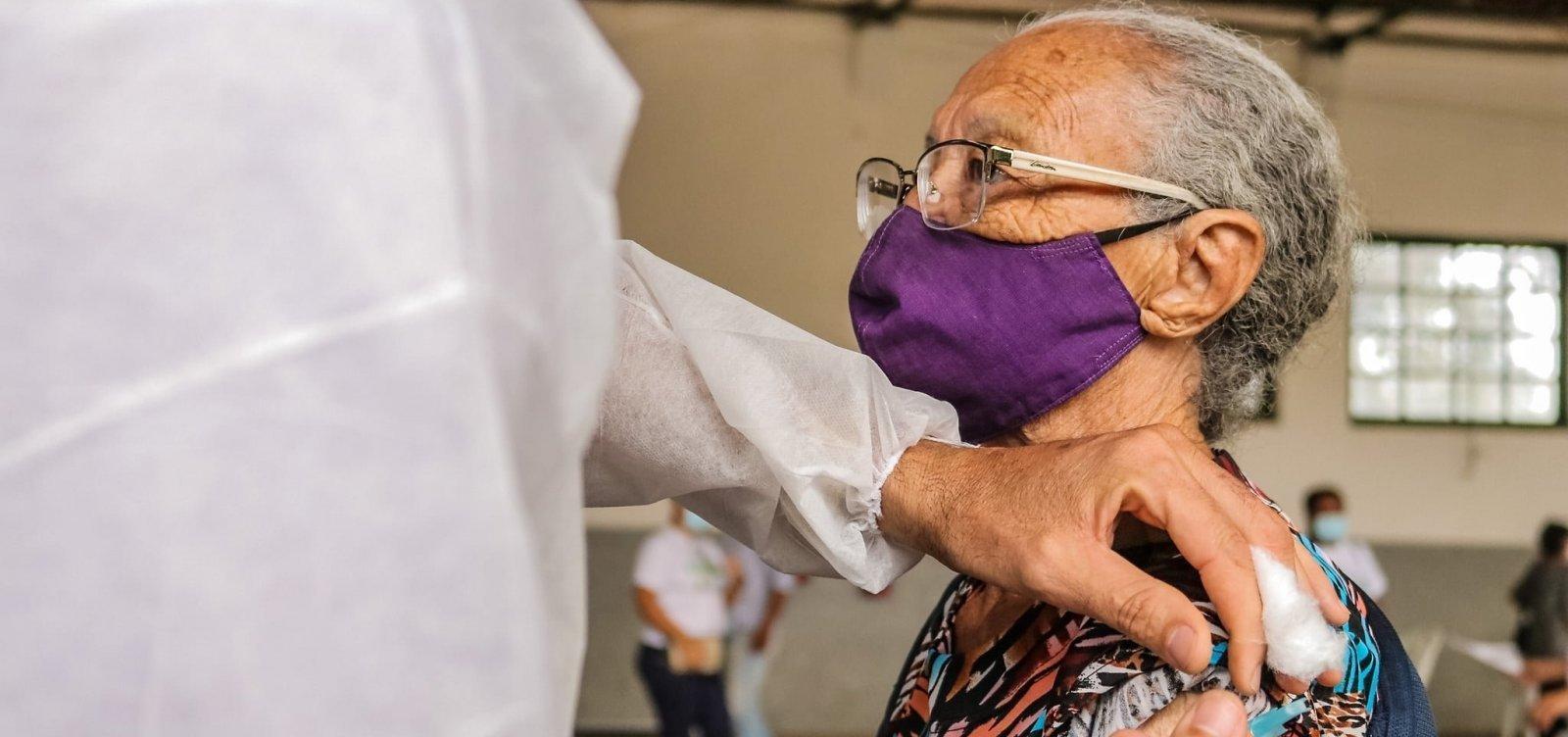 [Covid-19: Vacinação para idosos com 75 anos em Salvador começará nesta segunda; confira cronograma ]