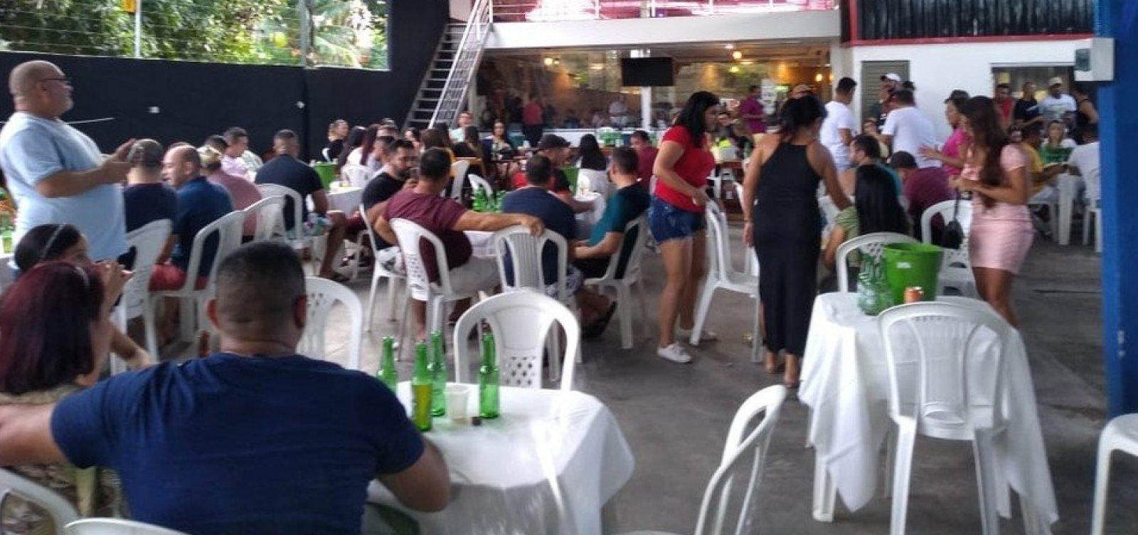 [Em Manaus, fiscalização encerra festa clandestina com mais de 200 pessoas ]