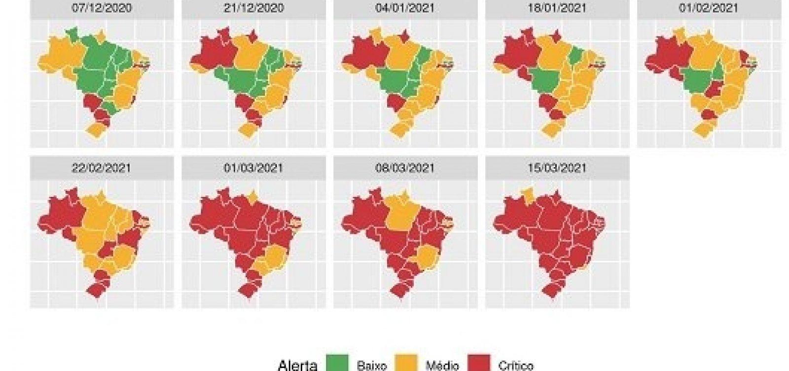 [Boletim da Fiocruz aponta maior colapso sanitário e hospitalar da história do Brasil]
