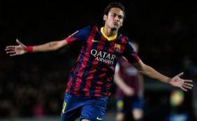 [Neymar é vítima de racismo durante jogo do Barcelona ]