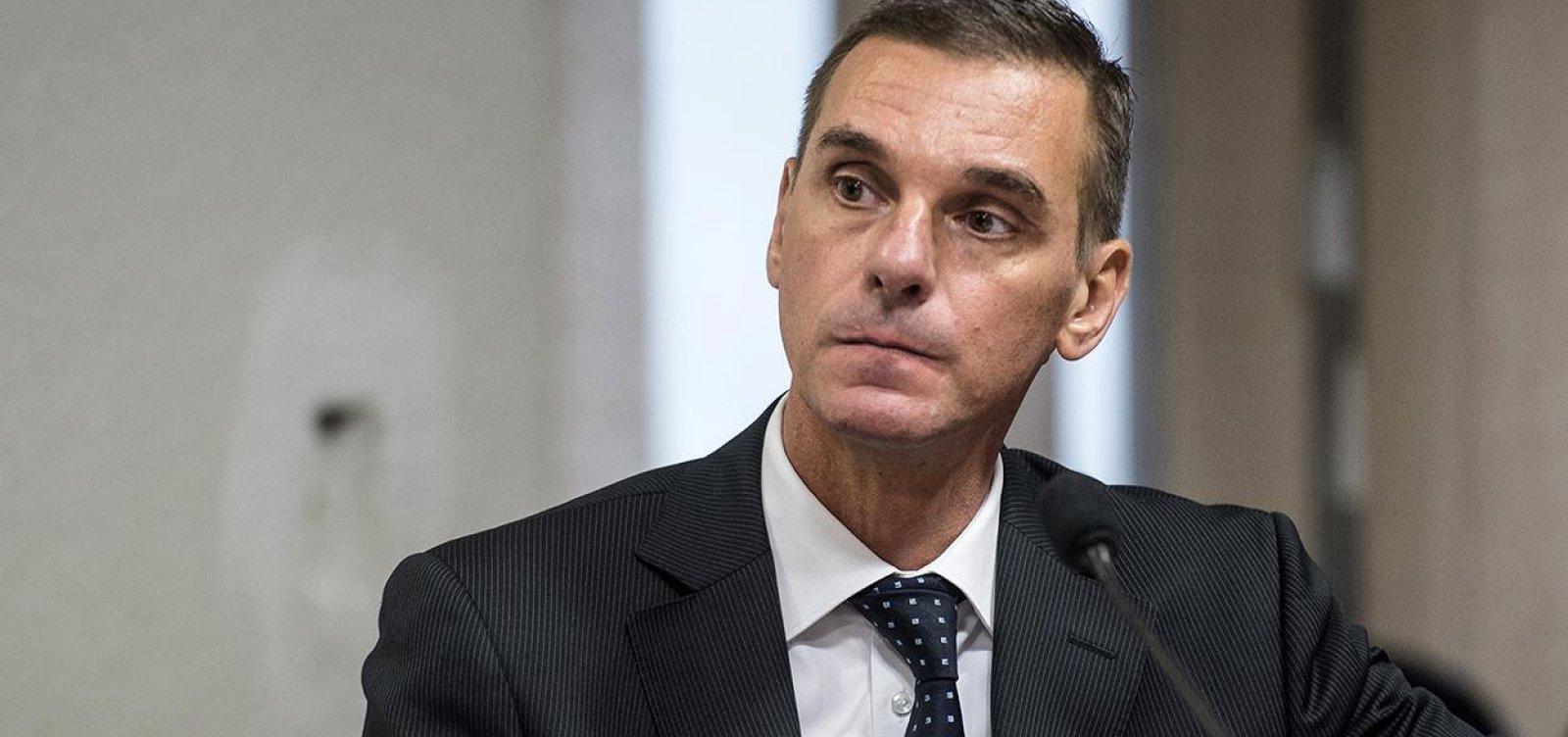 [Presidente do Banco do Brasil, André Brandão entrega o cargo ]