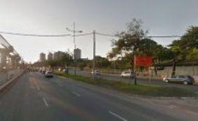 [Motociclista morre em colisão com poste na Av. ACM, em Salvador]