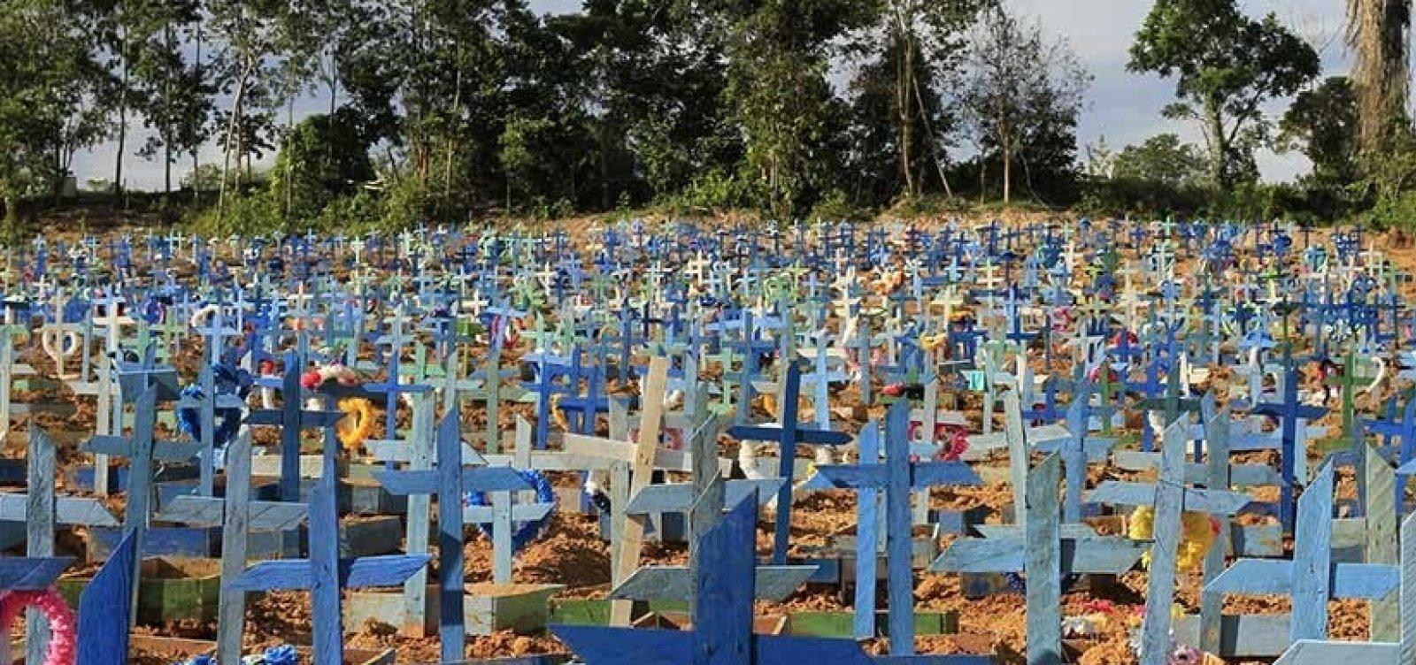 [Brasil registra novo recorde de óbitos por Covid-19: 3.251 mortes em 24 horas ]