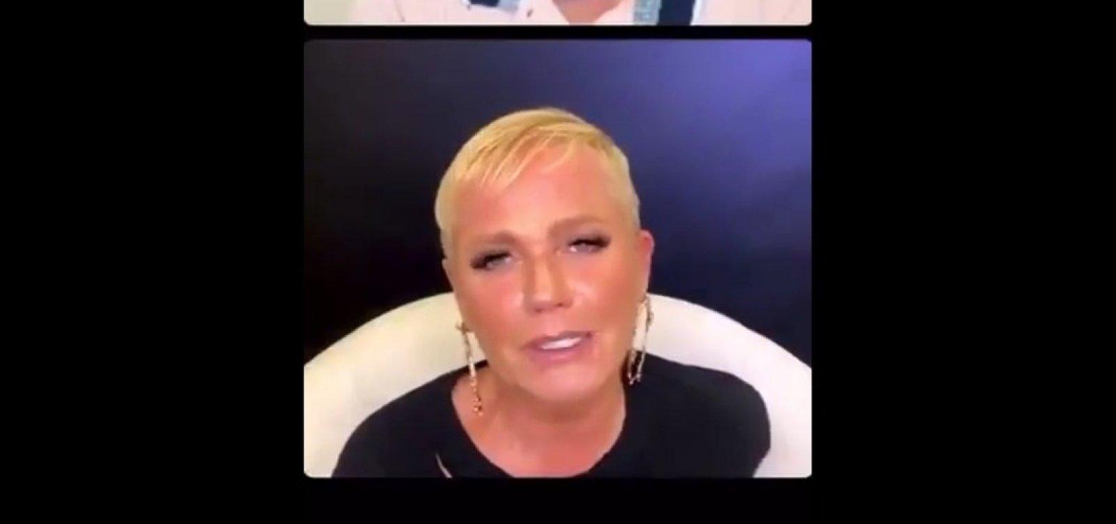 [Xuxa sugere usar presos para testes de remédios e, após repercussão negativa, pede desculpas]