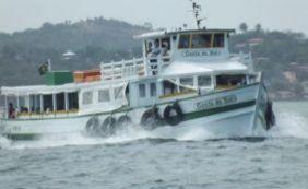 [Apesar da forte chuva, travessia Salvador-Mar Grande continua funcionando]
