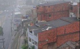 [Com chuva e ventos fortes, desabamentos são registrados em Salvador]