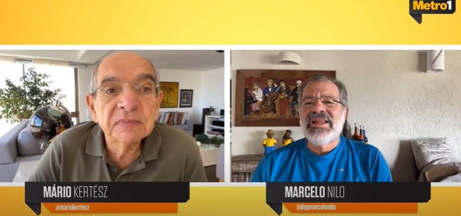 [Nilo diz que Bolsonaro tenta ser um 'ditador': 'Ele quer um golpe, mas não tem força']