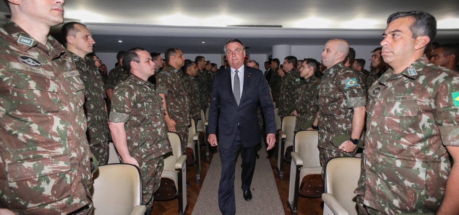 [Comandantes das Forças Armadas pedem demissão em protesto contra Bolsonaro]