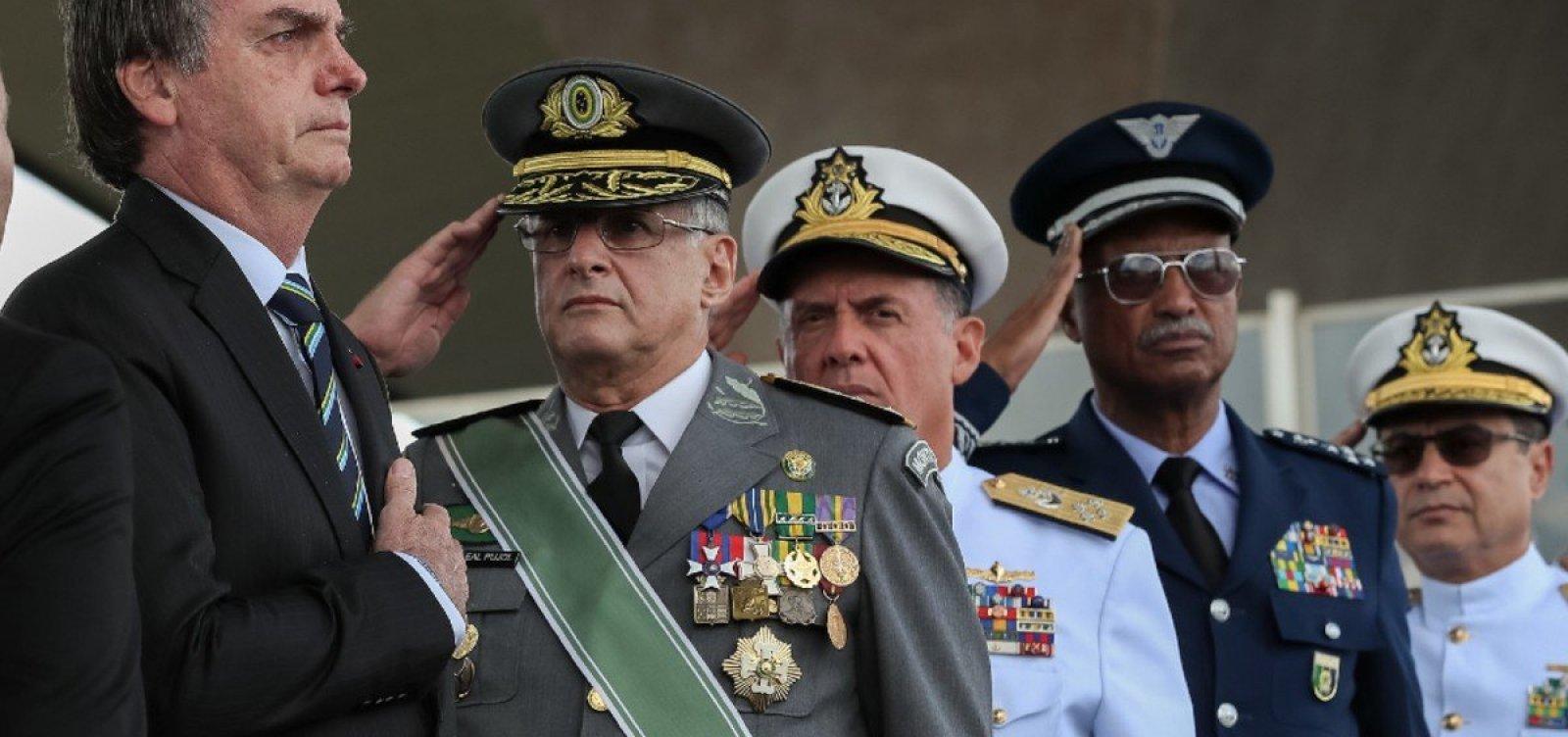 [Governo Bolsonaro define novos comandantes das Forças Armadas]