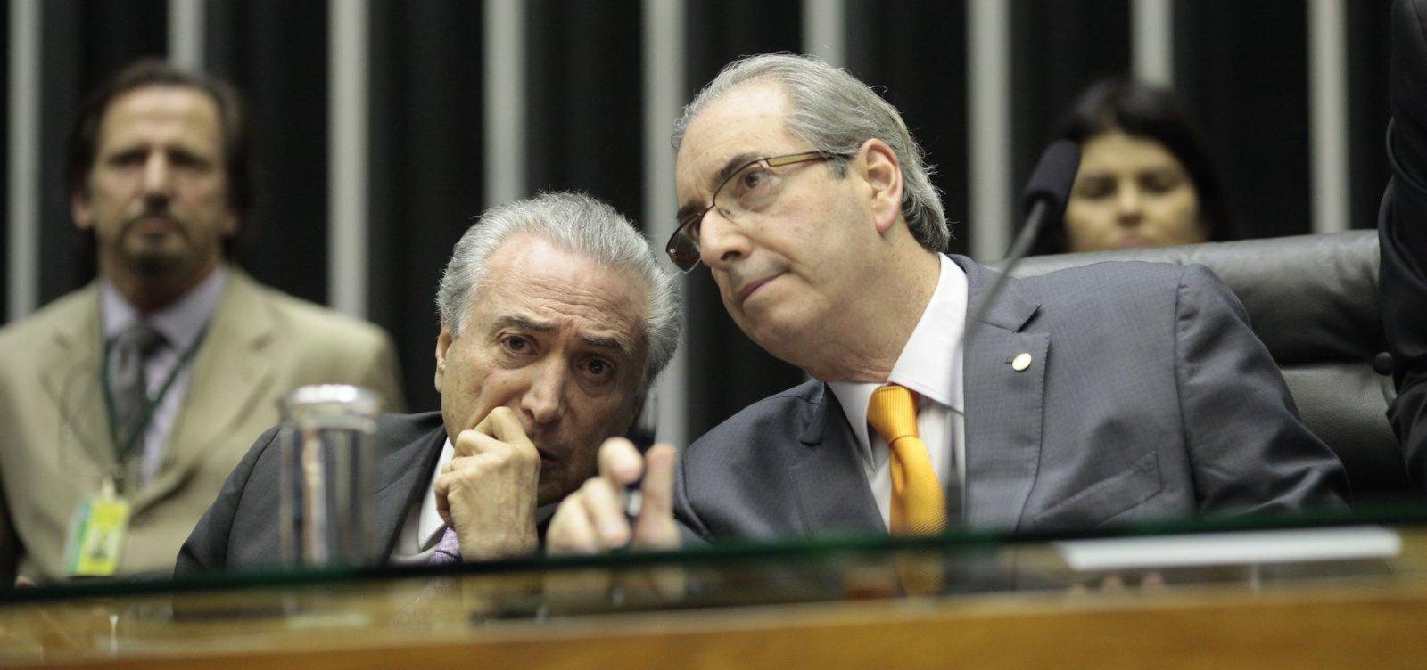 [Cunha diz em livro que Temer 'lutou de todas as maneiras' para derrubar Dilma]