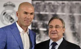 [Zinedine Zidane é anunciado como novo treinador do Real Madrid]