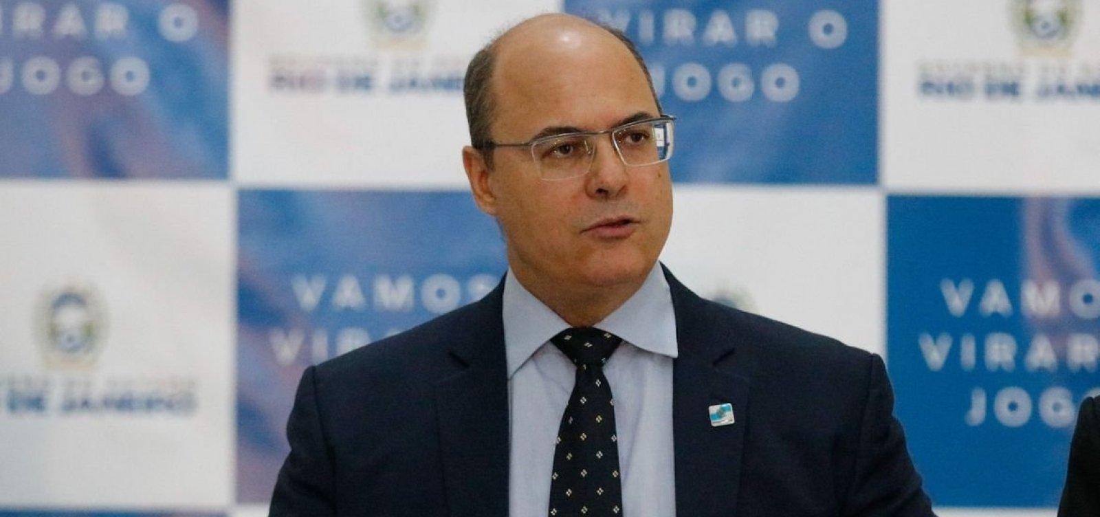 [Justiça ouve amanhã governador afastado do Rio, Wilson Witzel]