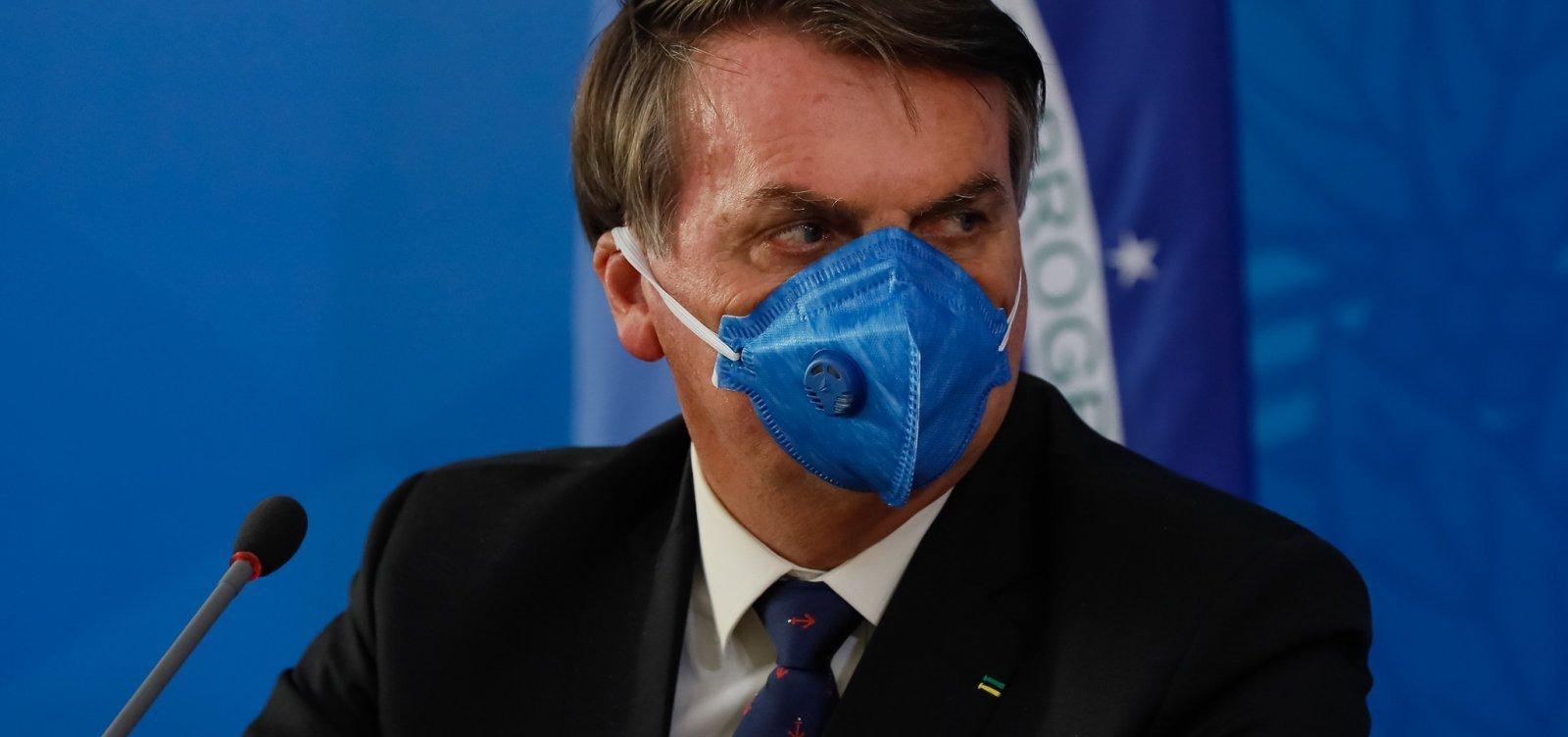 [Bolsonaro diz que 'há grande chance' de o Brasil produzir Sputnik V ]