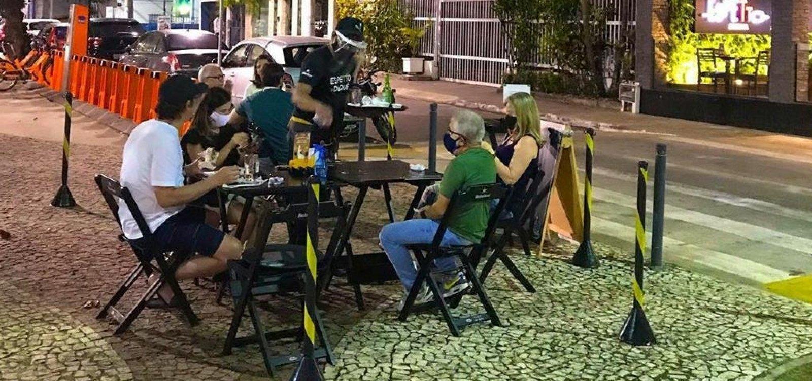 [Retomada do comércio: bares e restaurantes reabrem nesta quarta em Salvador]