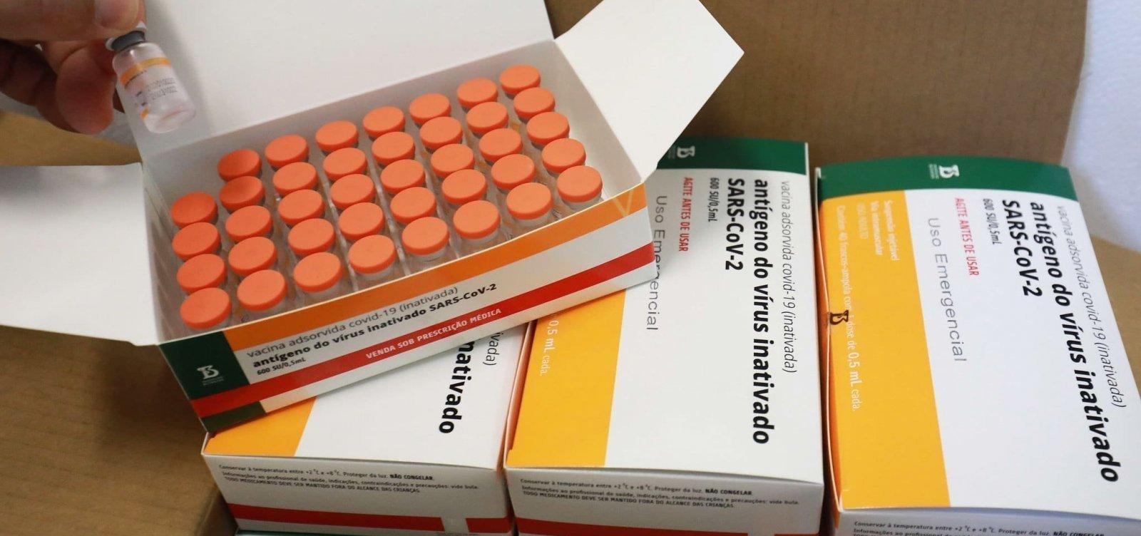 [Coronavac teve efetividade de 73,8% entre profissionais do Hospital das Clínicas de SP, diz estudo]