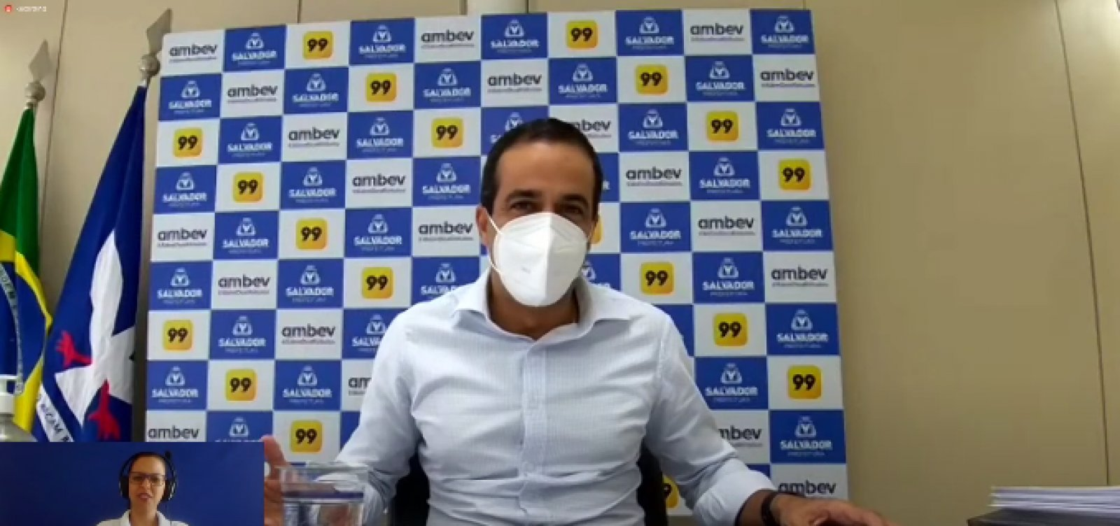 [Salvador deve receber 10 mil doses de vacinas contra Covid nesta quinta]