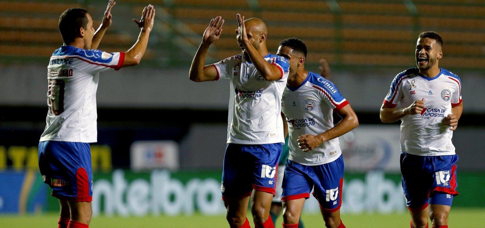 [Bahia goleia Manaus por 4 a 1 e avança na Copa do Brasil]