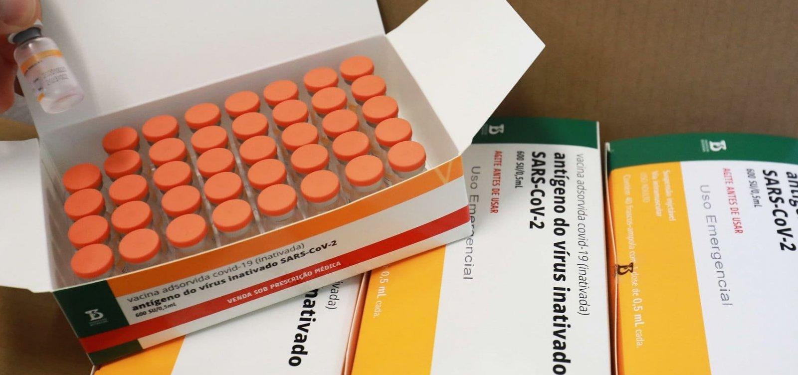 [Sem insumos, Butantan interrompe produção de vacinas contra Covid-19]